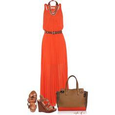 Michael Kors Dress by styleofe on Polyvore