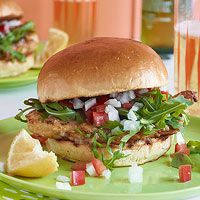 Every Day with Rachael Ray (July/August 2013): Chicken or Fish Francese-wiches
