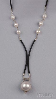 Art Deco Platinum and Diamond Ball Watch, Piaget