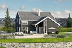 Vi ba nordmenn beskrive drømmehuset. Tusen takk for oppskriften. Nå har våre arkitekter svart på ønskene og tegnet husdrømmen – det moderne folkehuset…