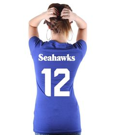 Seattle Seahawks TShirt by checkpointcharlee on Etsy c6b84b035