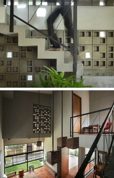 Stair Design, Foyer Design, Staircase Design, Design Your Own Home, Engineering Colleges, Staircase Ideas, Business Outfits, Facades, Cube