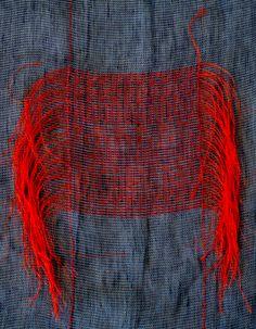 """Tässä punainen maustaa ja antaa energiaa harmaalle. """"MAPS"""", an exhibition by…"""
