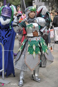 FASHION JAPAN: Ikebukuro Halloween Cosplay Festa 2015