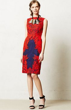 Anthropologie Spicetree Dress