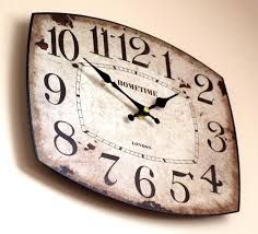 Image result for vintage wall clock