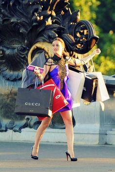 Provocative Woman - voguez: leilanifox: I want to shop like Blair...