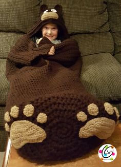 Big Kids Cocoons By Heidi Yates - Purchased Crochet Pattern - Adult And Child Sizes - (ravelry)