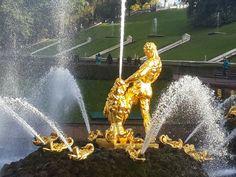 Samson fountain in Petergoff, Russia