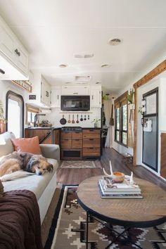 Van Living, Tiny House Living, Rv Homes, Tiny Homes, Motorhome, School Bus Tiny House, Camper Renovation, Camper Remodeling, Rv Interior