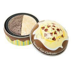 Etude House  Sweet Eye Cupcake (#01 Banana & Chocolate)