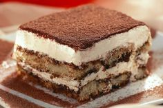 Receita de Tiramissú Italiano , Delicioso e fácil de fazer! Aprenda a Receita!