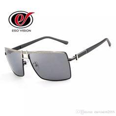 bb053bcc774 New Designer Sunglasses for Man Mens Metal Sunglasses Black Polarize Retro  High Quality Fashion Beach Sunglasses
