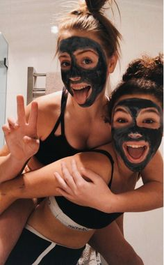 VSCO Girls Best Friends Funny Sleepover Face Masks Aesthetic Besties Photo Poses Ideas Summer Casual - Source by jjperlewitzz - outfits 2020