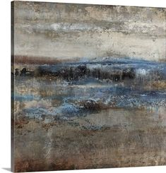 'Storm Clearing Slate' by Alexys Henry Painting Print on Canvas