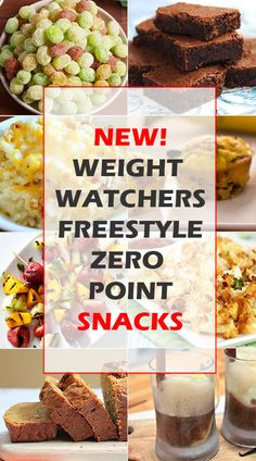 Weight Watchers Freestyle Zero Point Snacks