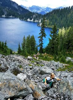 5 Reasons Why You Need to do The Snow Lake Hike | Miss PNW