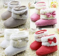Winter Shoes For Baby Girl 2014 Hot Sale Fashion Soft Warm Bow Infant Girl Boots Prewalker Baby Girl Boots