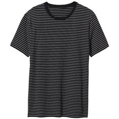 Old Navy Mens Micro Stripe Tees ($4.99) ❤ liked on Polyvore featuring men's fashion, men's clothing, men's shirts, men's t-shirts, tops, shirts, boy, men, mens clothes and mens jersey t shirt