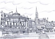 Fergal O'Dea Art -The Treasure Trove, Macroom - Arts and Crafts in County Cork County Cork, Irish Art, Cork Ireland, Art And Architecture, Art For Sale, Dublin, Taj Mahal, Cathedral, How To Draw Hands
