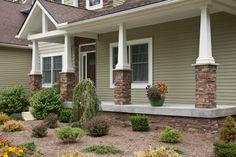 House exterior stone