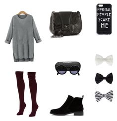 """Untitled #10"" by shakirajaim on Polyvore featuring Hue, Lucky Brand, Chanel and Accessorize"