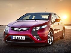 Opel Ampera (electric car)