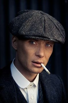 Cillian Murphy as Thomas Shelby from The Peaky Blinders.