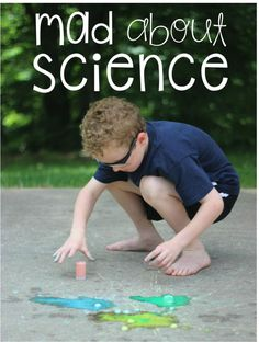 Chalk Bombs! Fun Science Experiments for Kids!