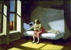 Edward Hopper - Summer in the City (1950) - Google Search