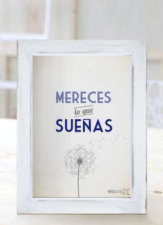 Mereces lo que sueñas. [Cuadros con frases] Moda Instagram, Instagram Posts, Positive Thoughts, Positive Quotes, A Kind Of Magic, Mr Wonderful, Important Dates, Some Quotes, How To Speak Spanish