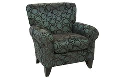 Napa Chocolate Accent Chair - Accent Chairs - Living Room | Mor Furniture for Less
