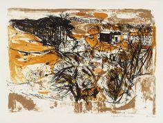 Elizabeth Blackadder 'Fifeshire Farm', 1960 © Elizabeth Blackadder