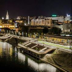 By the river of Belgrade