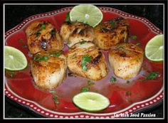 Turkish Food Passion: Turkish Style Seared Scallops (Türk Stili Tavada Tarak)
