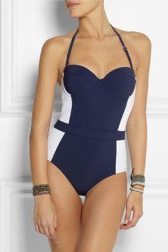 Tory Burch|Lipsi underwired swimsuit|NET-A-PORTER.COM