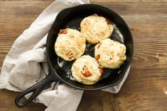Tomato, cheddar, and bacon biscuits   Homesick Texan