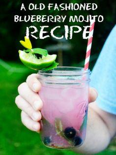 11 Eureka: Blueberry Mojito Recipe