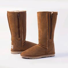 Tall Zip Ugg Boots #Adelaide #Aussie #Australia