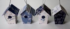 LovedOneDesign: Pienet linnunpöntöt paperista
