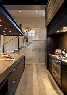 Sun Valley Mountain Modern by Signum Architecture - Decoration Ideas Loft Kitchen, Kitchen Interior, Kitchen Dining, Nice Kitchen, Kitchen Ideas, Loft Design, Küchen Design, House Design, Interior Architecture