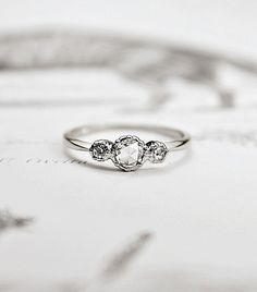 There's a common misconception out there when it comes to engagement rings: that the bigger the rock, the more beautiful the ring...