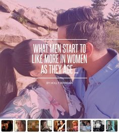 What Men #Start to like More in Women as They Age ... - Love