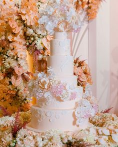 """Carousel Weddings and Events on Instagram: """"Cake dreams are made of this.. 💕"""" Tall Wedding Cakes, Luxury Wedding Cake, Instagram Cake, Wedding Events, Weddings, July Wedding, Wedding Cake Inspiration, Carousel, Floral Wreath"""