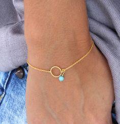 Karma Bracelet cercle des bracelet par lizaslittlethings sur Etsy