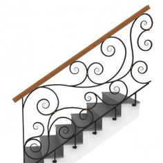 How To Install Stair Railing Staircase Railing Design Quakerrose. Cast Iron Staircase Railing In Bat. Loft Railing, Interior Stair Railing, Timber Stair, Wrought Iron Stair Railing, Stair Railing Design, Iron Balusters, Metal Stairs, Metal Railings, Stair Handrail