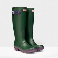 Hunter Original Contrast Wellington Boots