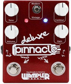 Wampler Pinnacle Deluxe Overdrive | Sweetwater.com