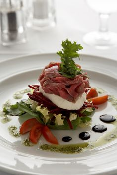Beef Carpaccio, Celebrity Cruises