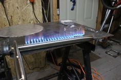 How to Make a BBQ Burner : 6 Steps (with Pictures) - Instructables Propane Griddle, Griddle Grill, Gas Smoker, Bbq Parts, Diy Outdoor Kitchen, Outdoor Kitchens, Diy Grill, Infrared Heater, Griddles